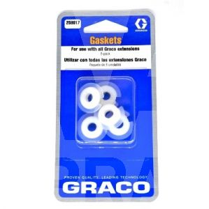 Graco 258017 Tip Extension Gaskets - 5 Pack