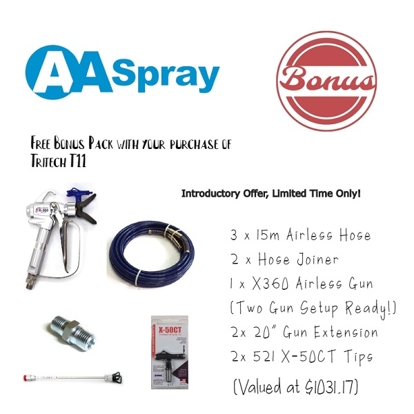 AA Spray Tritech T11 Introductory Offer